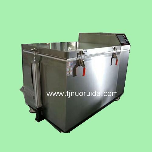 nitrogen cryogenic freezer with auto-door