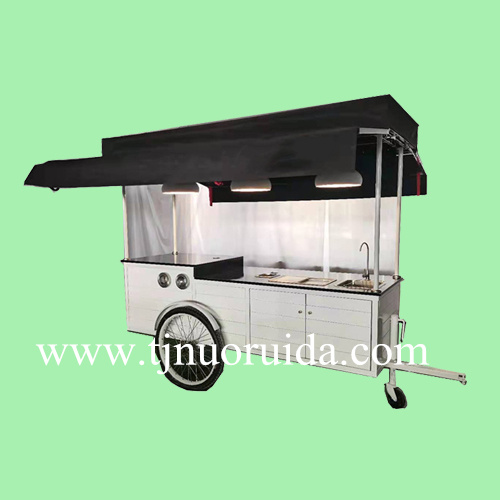 fashion designed drink cart coffee tricycle,food trailer